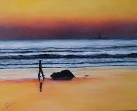 """A Sunrise Stroll"""